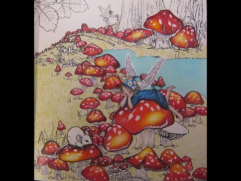 Toadstool Fairy|THE FLOWER FAIRIES|by Cicely Mary Barker
