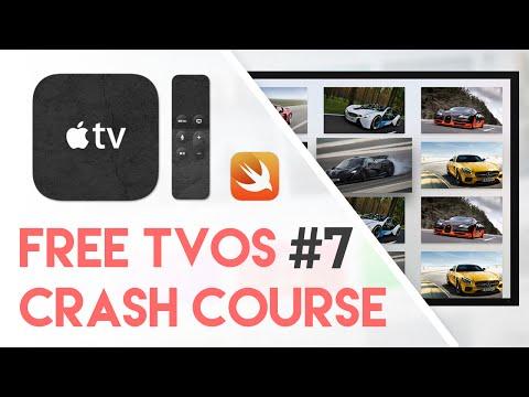 Free tvOS Swift Crash Course #7 -The Next Step (Free Apple TV Tutorial Crash Course)