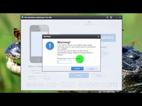 (iPod touch Data Eraser) How to erase all data on your iPod touch now ?
