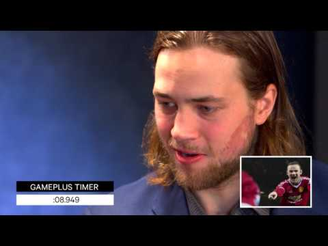 60 second challenge - Hedman, a long lost Brad Pitt relative?