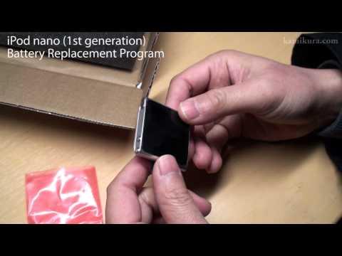 iPod nano 1st Battery Replacement Programで6thが戻ってきた