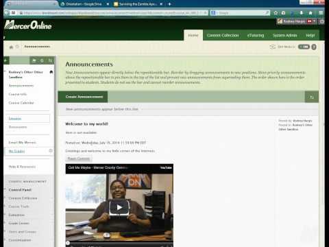 Import PPT into Google Slides for use in Blackboard