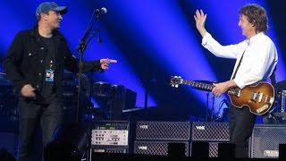 I SAW HER STANDING THERE...Paul McCartney & JIMMY FALLON in Vancouver...2016!