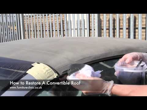 How to Restore a Convertible Roof