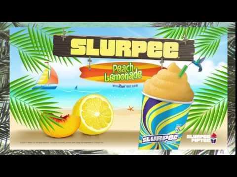 7 11 Peach Lemonade Slurpee