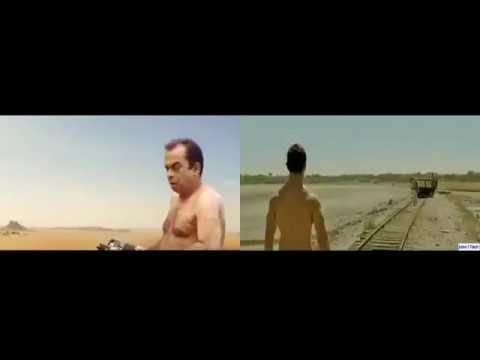 PK Brahmanandam vs Amir Khan Hindi Comedy Videos Full HD