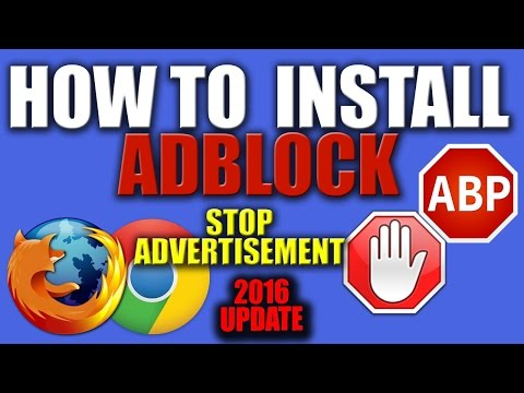 How To Get Rid of Ads On Google Chrome 2016 [UPDATED]