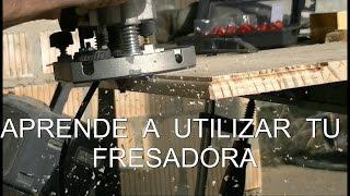 COMO USAR LA FRESADORA MANUAL