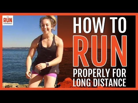 How To Run Properly For Long Distance   4 Important Tips