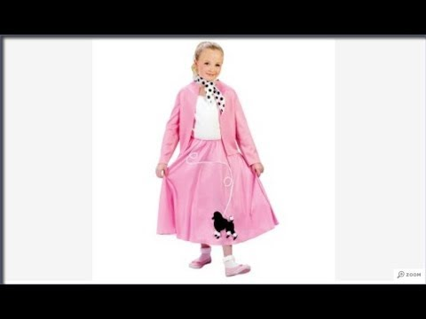 Nifty 50s Children Costumes