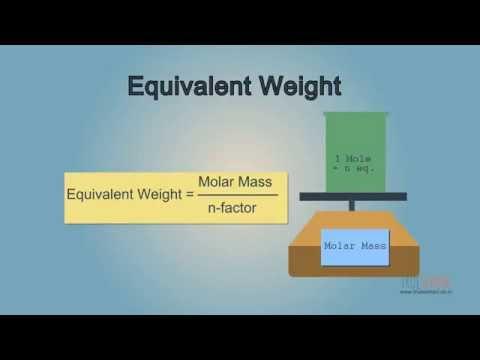 Equivalent Weight [TrueSchool - 02.05 ]