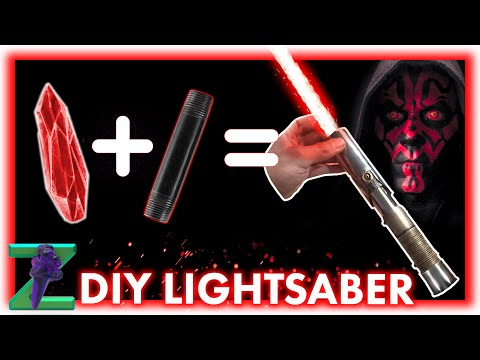 How to make: DIY Lightsaber for $30