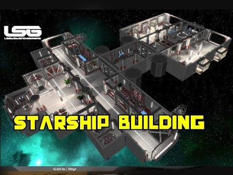 Interstellar Rift - Editor Starship Building Quick Look