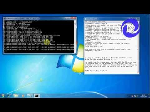 Make usb bootable pen drive using diskpart command prompt