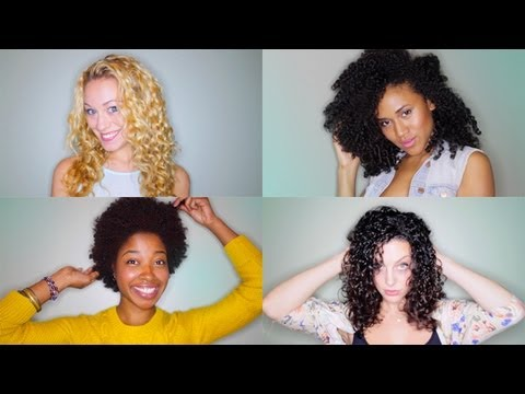 How to Wash & Style Curly Hair