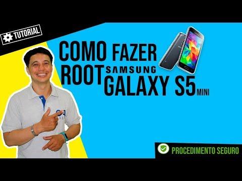 Como fazer root no samsung S5 mini SM-G800H Android 6.0.1 Patch 1 de outubro de 2016