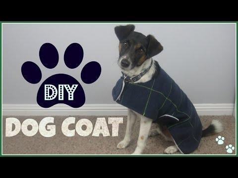{Step by Step Sewing} DIY Dog Coat