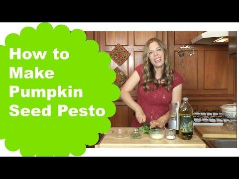 How to make Pumpkin Seed Pesto