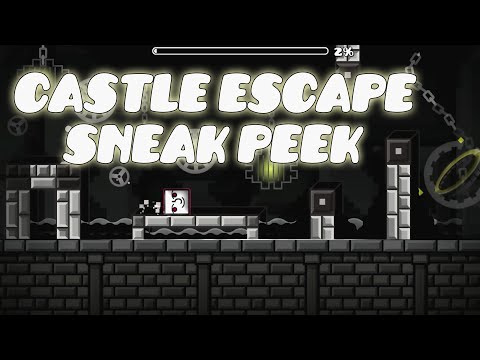 Castle Escape by Runis (me) [Sneak Peek 1] | Geometry Dash