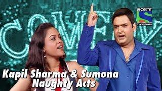 Kapil Sharma and Sumona's Naughty Acts | Comedy Circus
