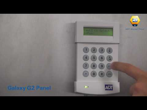 How to add a user code - Galaxy G2 Panel - ADT UK