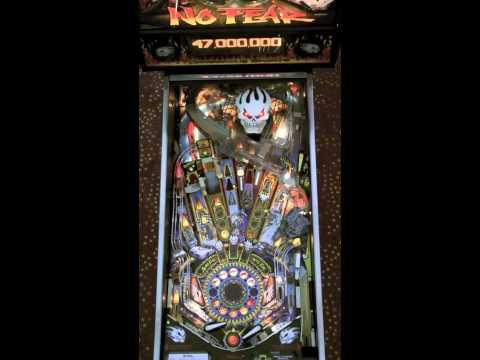No Fear Pinball Gameplay