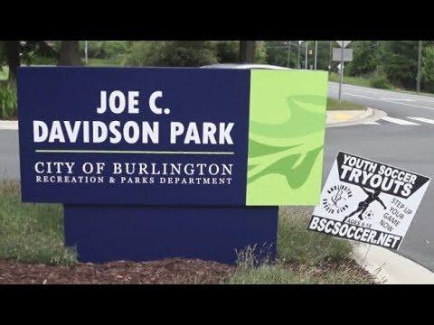 Brisk Trail Walk at Joe Davidson Park - Burlington, NC