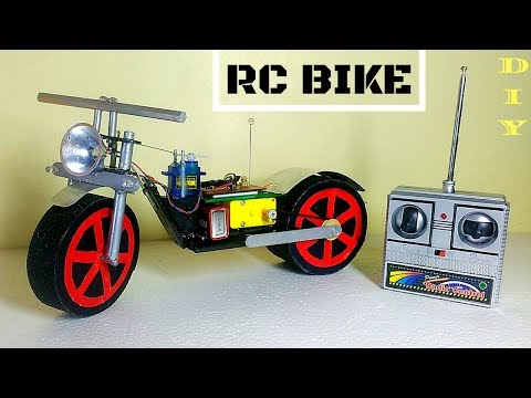 How To Make RC Motorcycle  at Home Version 2 Easy and Fast  || DIY || RC bike