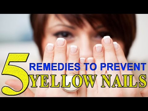 Yellow Nails Treatment | Top 5 Home Remedies