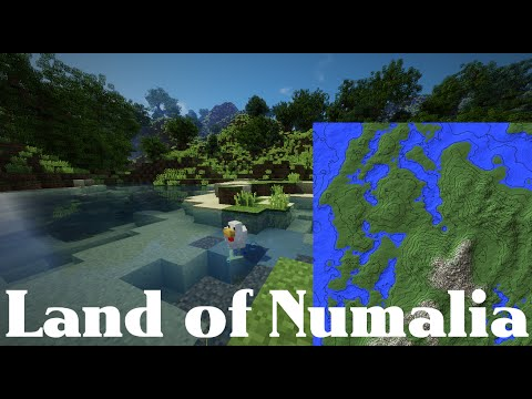 Terraforming timelapse + cinématique : Land of Numalia [Download]
