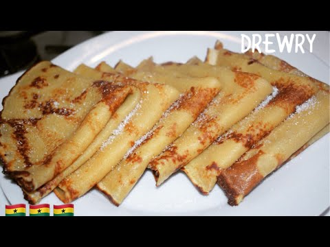 AUTHENTIC GHANA PANCAKES RECIPE