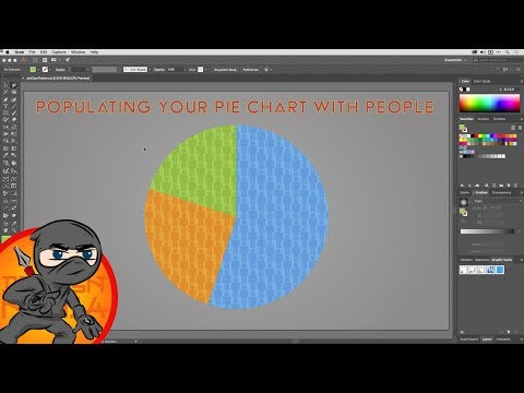 Infographic Design for Pie Charts in Illustrator