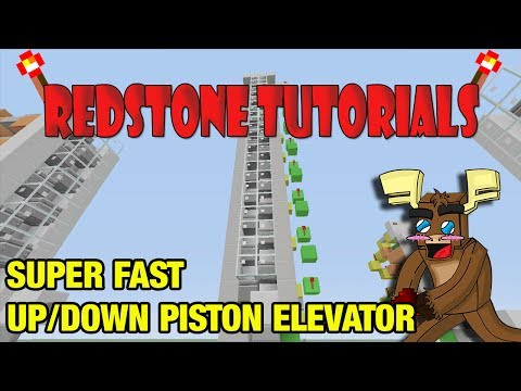 Super Fast Up/Down Piston Elevator