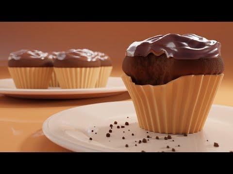 CGC Classic: Creating Cupcakes (Blender 2.6)