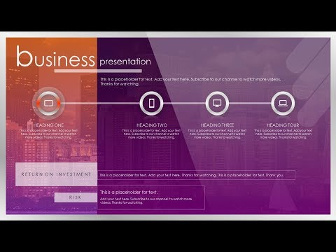 How To Create a Brilliant Business Presentation Slide Design in Microsoft Office PowerPoint PPT