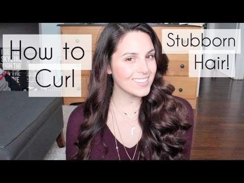 Hair | How to Curl Long, Straight and Thick Hair!