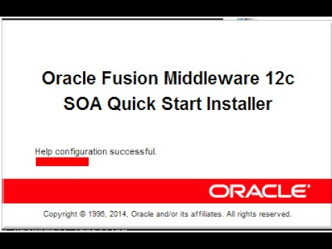 How to install and configure Oracle SOA Suite 12c (12.2.1.1.0)