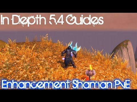 In depth 5.4 Guide - Enhancement Shaman PvE (Talents, Stats, Rotation, Burst, Macros)