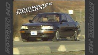 Throwback Thursday: 1990 Lexus LS 400
