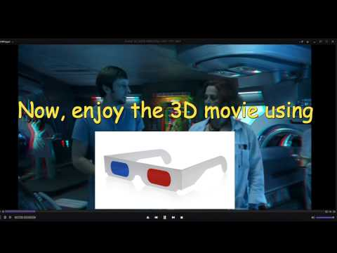 How to watch 3D movies in Laptop and TV