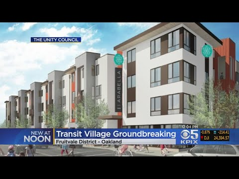 Oakland Holds Groundbreaking Ceremony For New Low-Income Housing Development