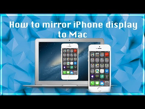 How to mirror iPhone display to Mac | FREE | 2017
