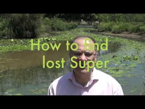 How do I find my lost Super?