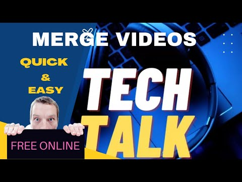 How to merge video or audio clips free online