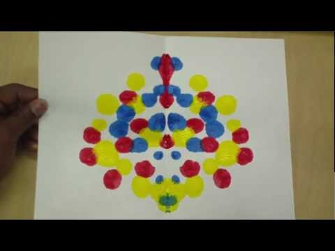 Art Lessons for Kids: Symmetry Painting