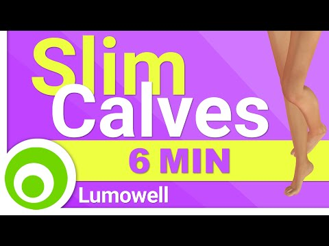 Get Slim Calves - Calves Workout for Women