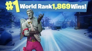 #1 World Ranked 1,869 Solo Wins - GTX 1080TI and 20,000 vbucks giveaway