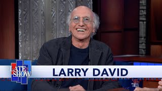 Larry David Reminisces About Colbert's Guest Spot On