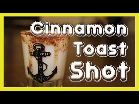 How to Make Cinnamon Toast Crunch Shots ◄◄◄ BIG Shots