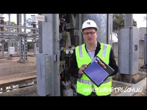 Windows 7 Tablet PC - Why Electranet uses the rugged Motion F5v